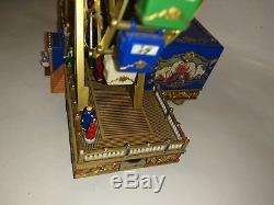 Mr. Christmas WORLD'S FAIR FERRIS WHEEL Animated Gold Label Plays 30 Songs Box
