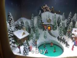 Musical LED Retro TV with Lighted, AnimatedChristmas Scene Amusements Colletible