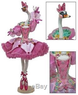 NEW Katherine's Collection 36 Odette Bellefleur Pink Swan Doll NIB