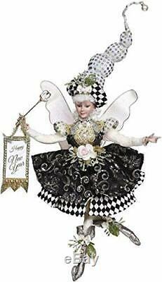 NEW Mark Roberts Happy New Year's Girl Fairy 17 Medium #5185914
