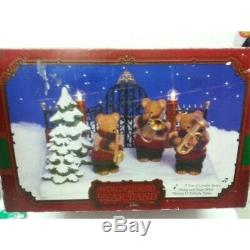 NEW, Wonderland BEAR BAND/ Swing and Sway While Playing 12 Yulietide Tune/