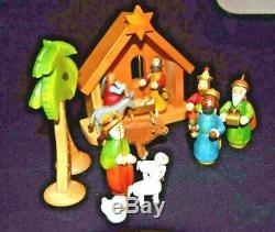 NIB Kathe Wohlfahrt Silent Night Nativity