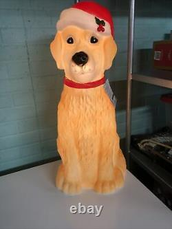 New Labrador Retriever Golden Lab Dog Puppy Blowmold Christmas Light Outdoor 25
