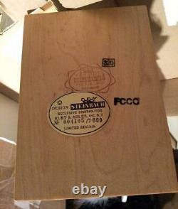 Nib New 1999 Steinbach Germany Peter Pan Captain Hook Nutcracker In Box S1826