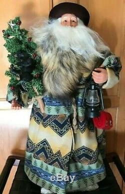Nib New Pendleton Large Father Winter Santa Holiday Christmas Decor Retail $699