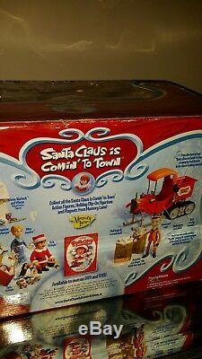 North Pole Mail Truck Santa Claus Is Comin' To Town Playing Mantis Works