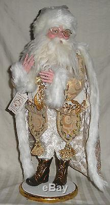 Nos Mark Roberts Christmas 2012 Winter White Santa Large, 52/100,51-27676