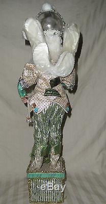 Nos Mark Roberts Christmas Snowglobe Fairy Stocking Holder, 51-27780