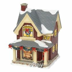Original Snow Village Department 56 Rockwell's Christmas Eve