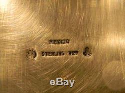 Pair VINTAGEVINTAGE, STERLING CANDLE holders. 376 g solid sterling silver