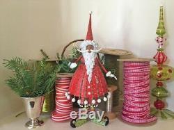 Patience Brewster H8 World Edition Dashing Santa 12in Figurine 31258