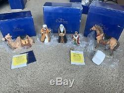 Pipka The First Christmas Magi Lot Three Wise Men Camel Horse Box CoA