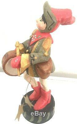 RARE 11 House of Hatten 9 Drummers Drumming 12 Days of Christmas Figurine