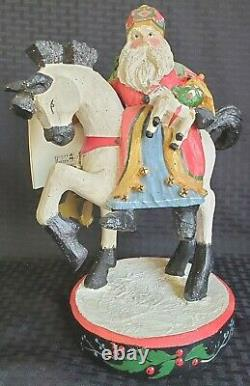 RARE House of Hatten 1992 St. Nicholas Netherland Spirit of Giving w Tag