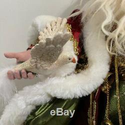 RARE Mark Roberts 12 Days of Christmas Santa Extra Large 28 #368/1000 51-27674