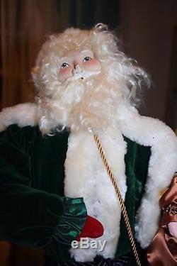 RARE Vtg House of Hatten Santa St Nick Figure LARGE 23 Norma Decamp
