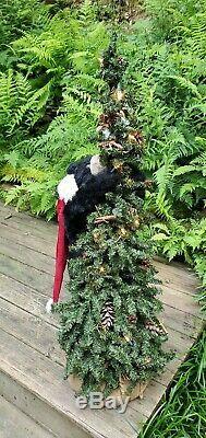 RAREJoyce Ditz Design Christmas Bear Lighted Tree Designer Hen HouseWOW