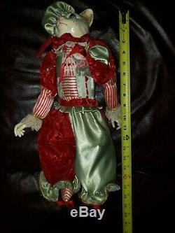 Retired Katherine's collection Percy Peppermitten Wayne Kleski Cat Figurine Doll
