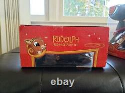 Rudolph the Red Nosed Reindeer Memory Lane Elves Musician Figures RARE Christmas