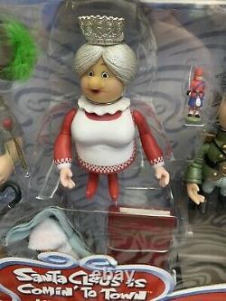 SANTA CLAUS IS COMIN' TO TOWN Memory Lane Burgermeister Tanta Kringle Grimsley