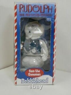 Sam The Snowman Bobblehead Rudolph Character Christmas