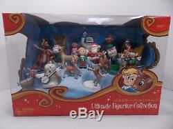 Sealed Rudolph The Red Nosed Reindeer 21 Piece Ultimate Figurine Collection Mib
