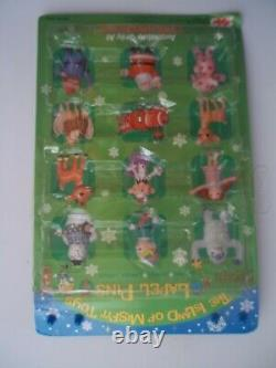 Set of 10 LAPEL PINS RUDOLPH The Red-Nosed Reindeer Misfit Toys CVS 200 Toy 12