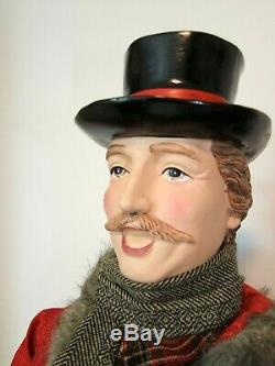 Set of 4 Large VICTORIAN CHRISTMAS CAROLERS- 24-36- Indoor, Family, Giant, NEW