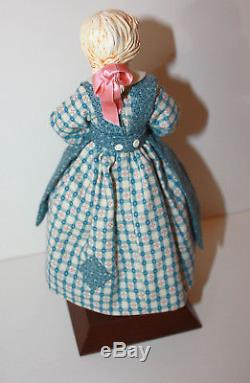 Simpich Character Dolls'The Cratchet Family' 4 Dolls Collectible 1992 & 1993