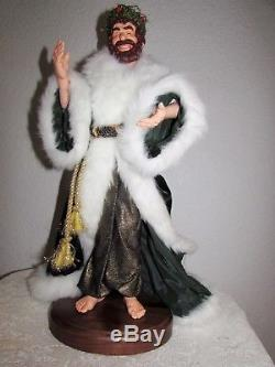 Simpich Ghost of Christmas Present Charles Dickens A Christmas Carol Doll