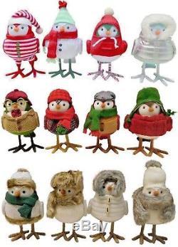 Target Complete 2017 Holiday Set All 12 Featherly Decor Wondershop Bird Lot