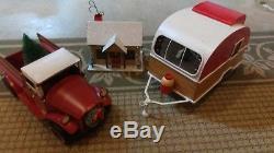 Target Holiday Christmas 2017 Camper Truck Cabin Vintage Wondershop Large RARE