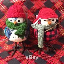 Target Wondershop Featherly Friends Camper Blazer Trapper Scout Christmas Birds