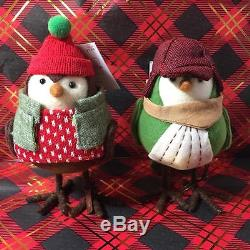 Target Wondershop Featherly Friends Camper Blazer Trapper Scout Christmas Birds
