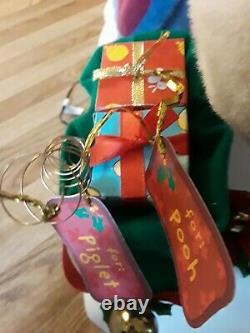 Telco Motion-ettes Disney Eeyore Animated Lighted Christmas Figure Decor