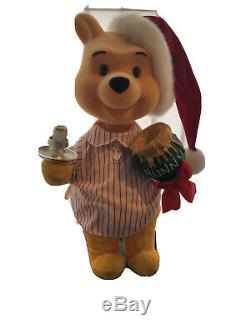 Telco Motionette Disney Animated Winnie Pooh Christmas Moves & Lights Up 22