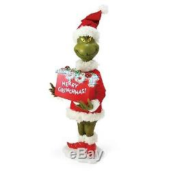 The Grinch 30 FIGURE Merry Grinchmas Christmas Dept 56 Possible Dreams LightsUp