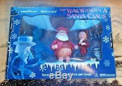 The Year Without a Santa Claus Snow Miser, Civilian Santa and Jangle
