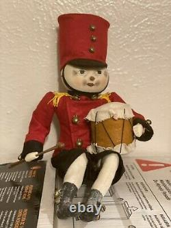 Very Rare Joe spencer gathered traditions Drummond Toy Soilder (Free Shipping)