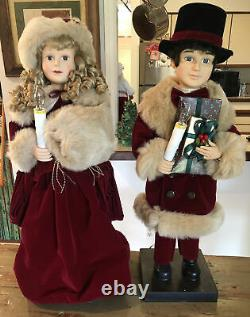 Victorian Couple Animated 26 By Traditions Near Mint Condition Immaculate