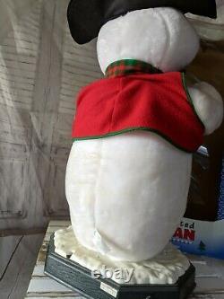Vintage 1998 Holiday Creations Large Snowman Animated Christmas Decor RARE 27