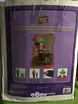 Vintage 2004 Gemmy Life-size The Grinch! Sings, Talks, Swings Hips! Works