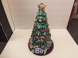 Vintage 2004 Thomas Pacconi Classic 16 Christmas Tree Hand Blown