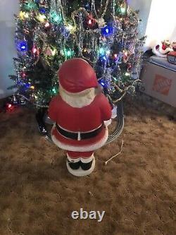 Vintage Beco MECHANICAL Santa Blow Mold