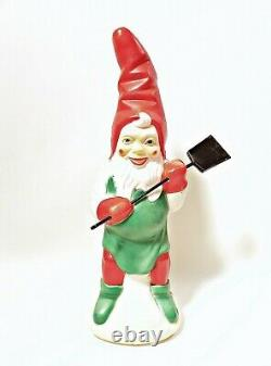 Vintage Elf Blow Mold Christmas
