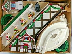 Vintage Mr Christmas Santa's Ski Slope 1992 New in Box