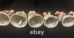 Vintage Napco Merry Christmas Angel Bell Tree Ornaments In Box Japan RARE HTF