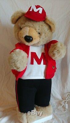 Vintage RARE Telco motionette teddy bear 27 works motion-ette
