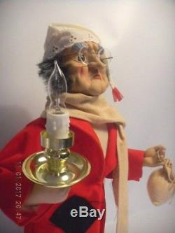 Vintage TELCO Animated Motionette Holiday Christmas Display SCROOGE