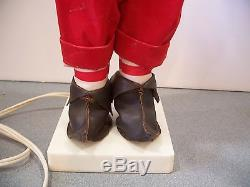 Vintage christmas motionette Elf Santa's Helper Animated 19 troll electric